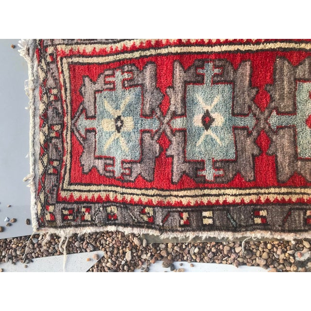This rug will be perfect as a mat in front of a vanity or just outside the bath tub. It is made of handspun wool. The...