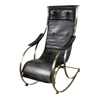 19th Century Campaign Rocker For Sale