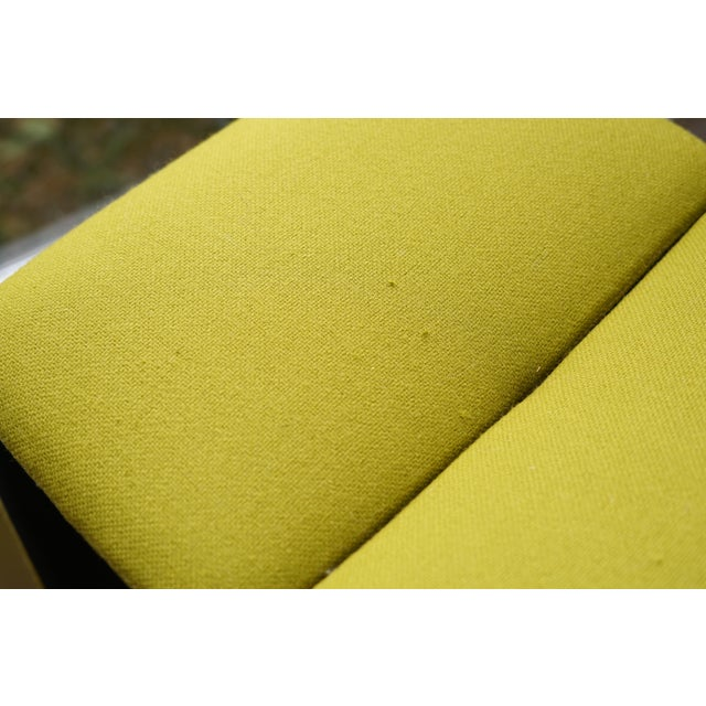 B&b Italia 'Pyllon' Stool by Nicole Aebischer in Chartreuse- A Pair For Sale In Raleigh - Image 6 of 12