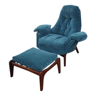 Mid Century Adrian Pearsall Lounge Chair For Sale