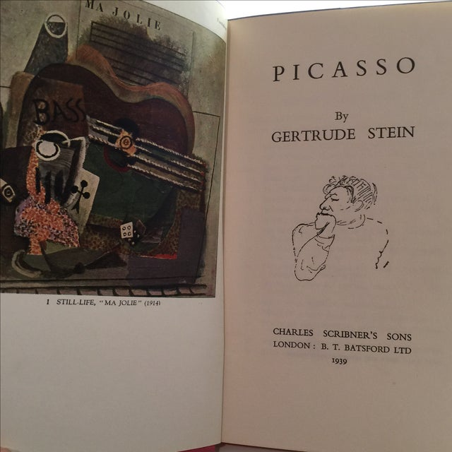 Picasso by Gertrude Stein 1939 Book - Image 3 of 11