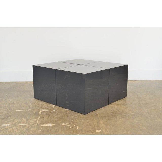 Mid-Century Modern Domino' Coffee Table by Jan Wichers and Alexander Blomberg For Sale - Image 3 of 7