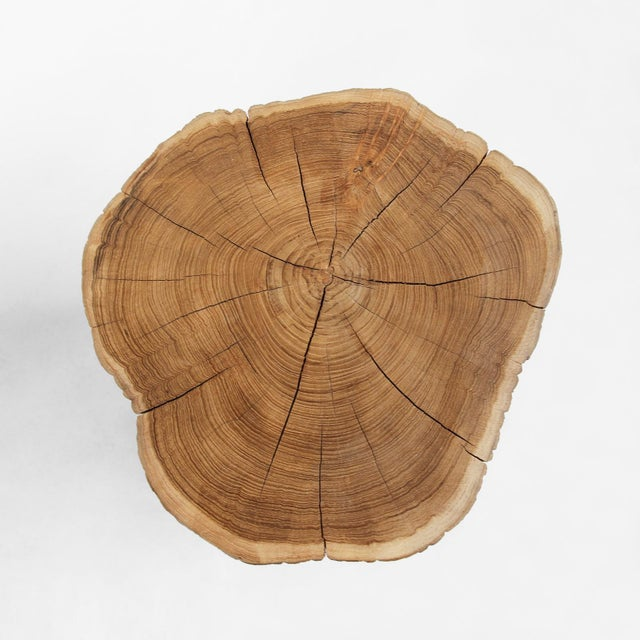 Organic Teak Stump Stool - Image 2 of 3