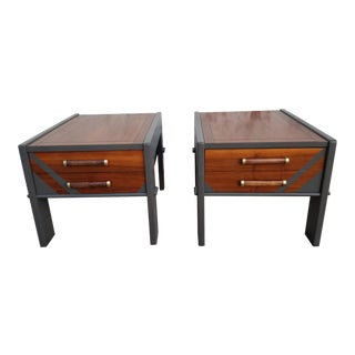 Mid-Century Modern Lane Side Table - a Pair For Sale