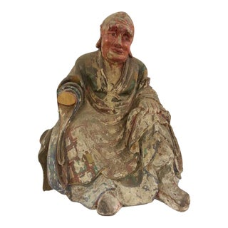Vintage Nantimitolo Buddha Stature For Sale