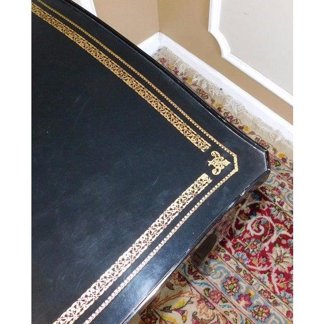 Jacques Bodart Louis XV Black Lacquered Desk For Sale - Image 5 of 6