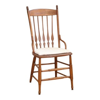 Vintage Shabby Chic French Country Chair For Sale