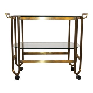French 1940s Bar Cart For Sale