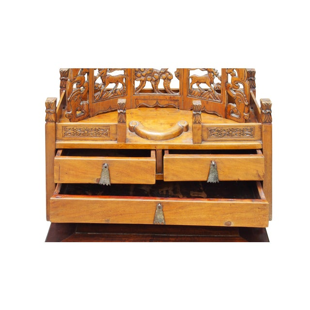 Vintage Chinese Shrine Chest - Image 5 of 7