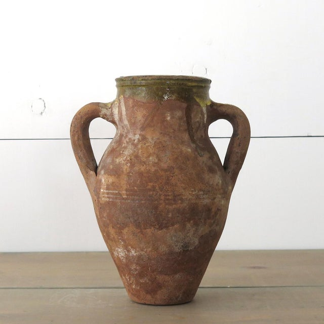 Turkish Terra Cotta Olive Jar - Image 2 of 10