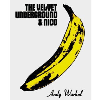 Andy Warhol 'The Velvet Underground & Nico' 1967 Plate Signed Original Pop Art Poster For Sale