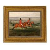 "Image of ""Across the Meadow"" Reproduction on Canvas Painting For Sale"