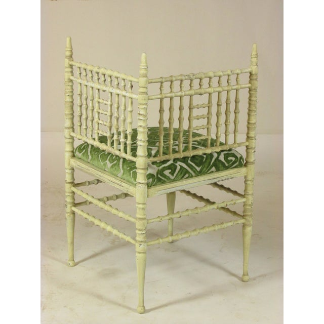 Late 19th Century 19th Century Corner Chairs - a Pair For Sale - Image 5 of 11