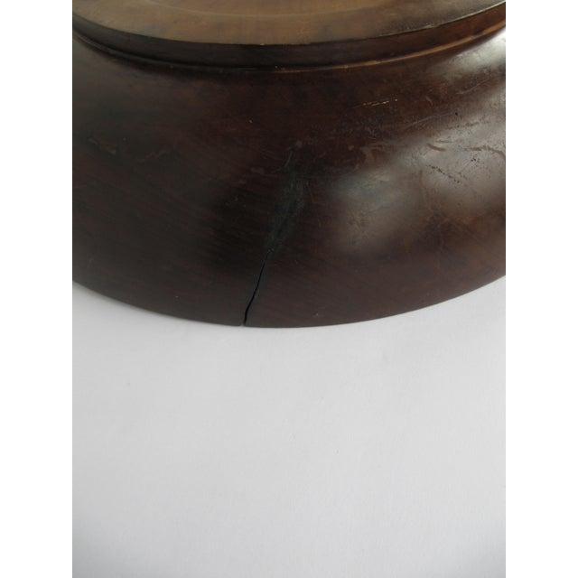 Primitive Vintage Brazilian Wood Bowl For Sale - Image 3 of 8