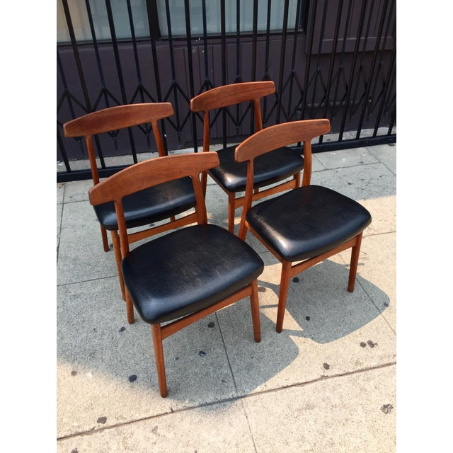 Bruno Hansen Danish Modern Chairs - Set of 4 - Image 6 of 9