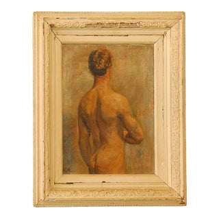Male Nude Oil Painting For Sale