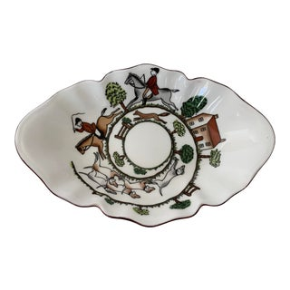 Staffordshire Hunting Scene Bowl For Sale