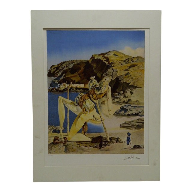 """Limited Edition Numbered (275/300) Matted Salvador Dali Print """"Spectrum of Sex Appeal"""" - Image 1 of 8"""