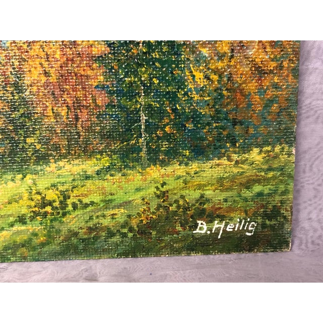 Mid 20th Century Mountain Landscape Oil Painting For Sale In New York - Image 6 of 13