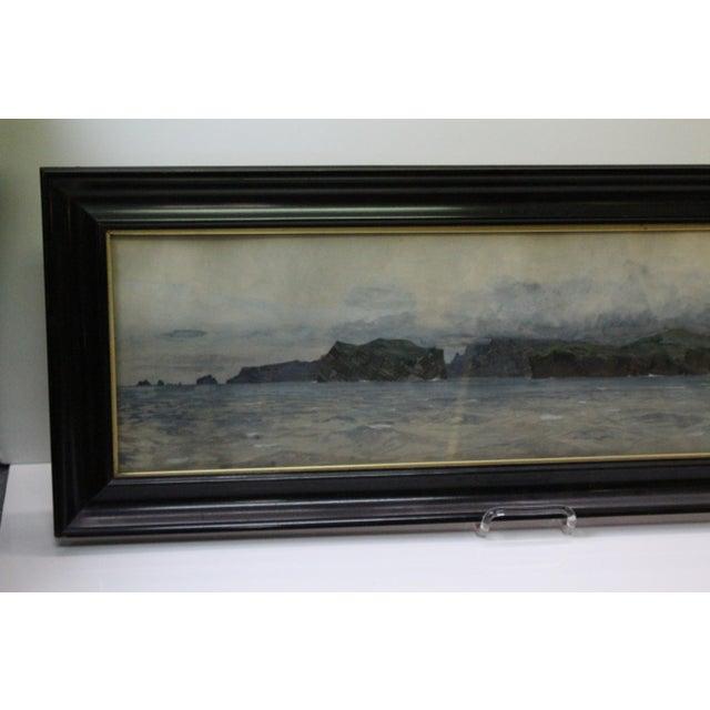 Zeno Diemer Harbor Scene Painting For Sale - Image 4 of 8