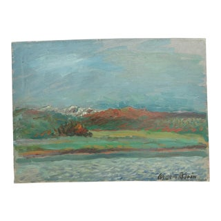 California Landscape Oil Painting by Anders Aldrin For Sale