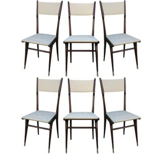 Carlo di Carli Style Dining Chairs- Set of 6 For Sale