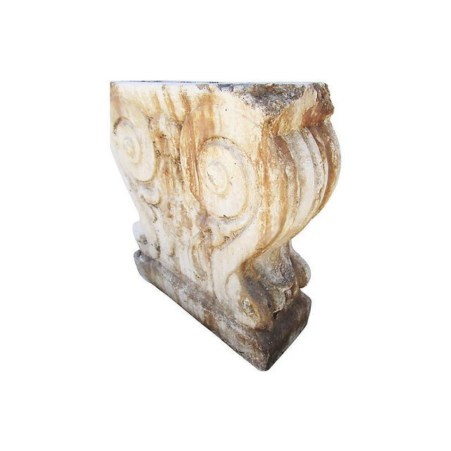 19th-C. French Garden Stone Fragment For Sale - Image 4 of 6