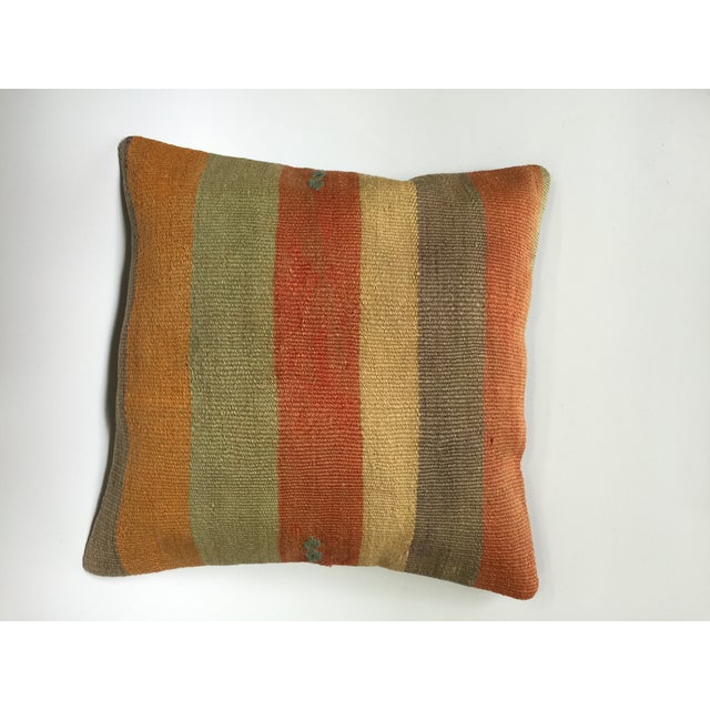 Handmade Vintage Pillow Cover - Image 2 of 5