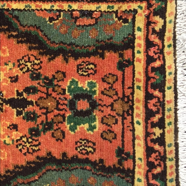 Hamadan Persian Rug - 1′6″ × 2′6″ - Image 6 of 9