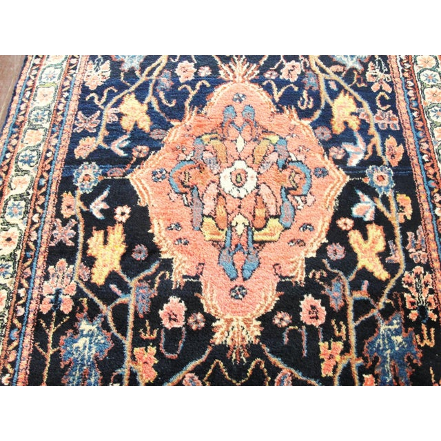 Antique Persian Bakhtiari Runner For Sale - Image 9 of 12