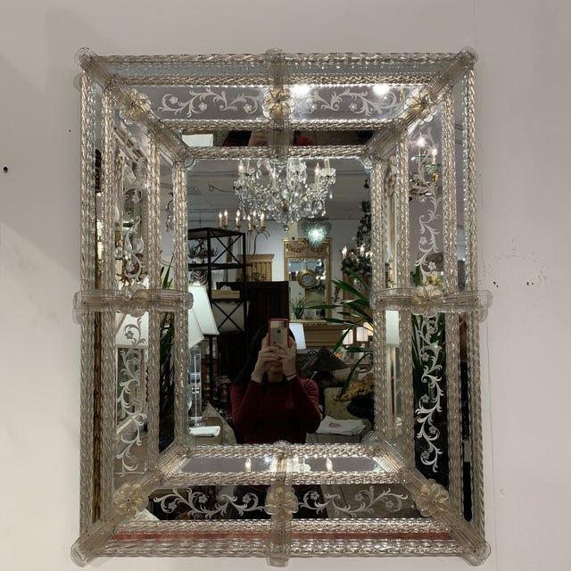 Vintage Murano Mirror For Sale - Image 13 of 13