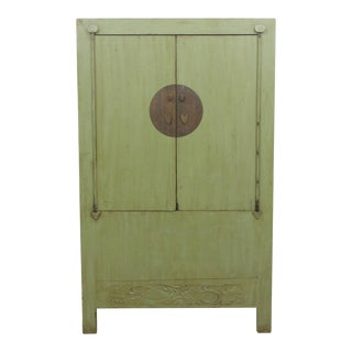 Ming Style Green Wedding Cabinet