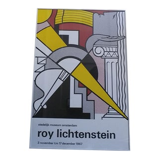 Lichtenstein ''Stedelijk Museum Amsterdam 1967'' Exhibition Poster For Sale