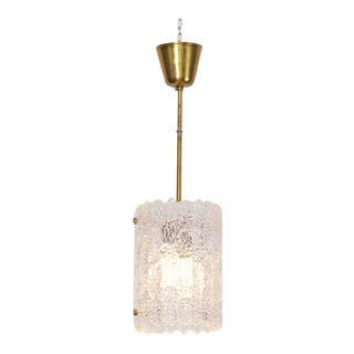 Glass Pendant Light by Carl Fagerlund for Orrefors For Sale