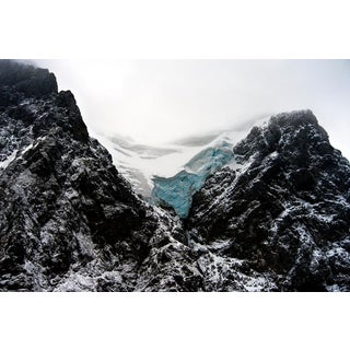 "John Conn ""Patagonia #99"" Iceberg Blue, Black Limited Edition Photograph C. 2010 For Sale"