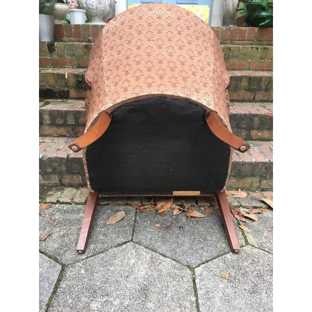 Hollywood Regency Channel Back Chair For Sale - Image 6 of 6