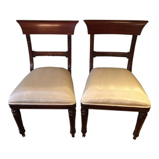 Maitland-Smith Chairs - A Pair For Sale