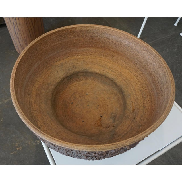 Raul Coronel Ceramic Planter by Raul Coronel For Sale - Image 4 of 7
