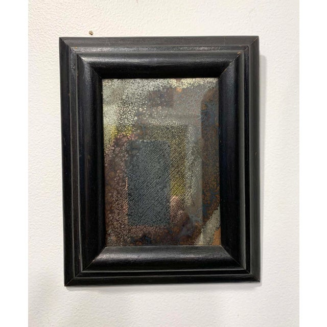 18th C. Patinated Wall Mirror For Sale In New York - Image 6 of 6