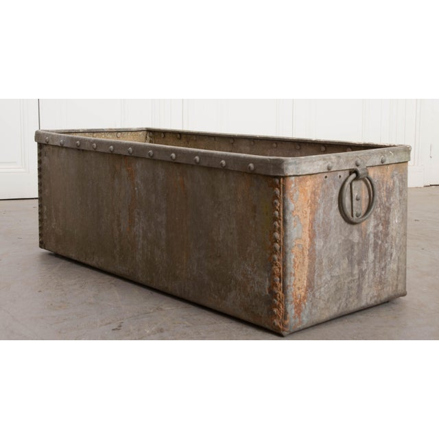 English 19th Century Zinc Trough For Sale - Image 10 of 11