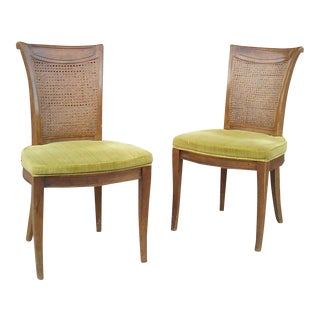 Vintage Drexel Hollywood Regency Side Chairs - a Pair For Sale