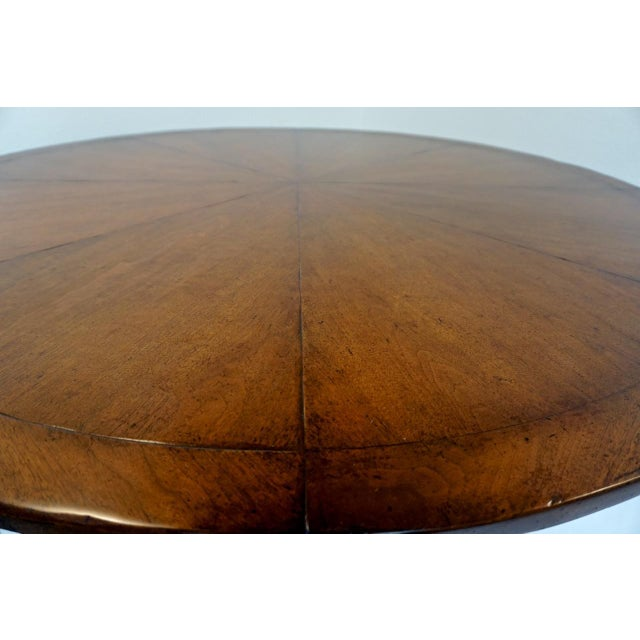 Enjoyable Rose Tarlow 58 Round Mahogany Pedestal Dining Table Chairish Gmtry Best Dining Table And Chair Ideas Images Gmtryco
