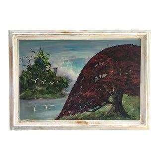 Highway Men Style Florida Landscape Painting For Sale