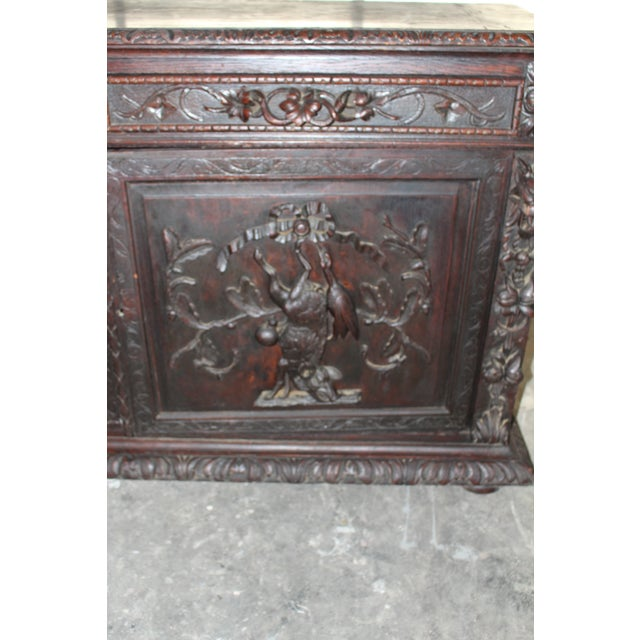 Mid 18th Century 18th Century French Hand-Carved Sideboard For Sale - Image 5 of 8