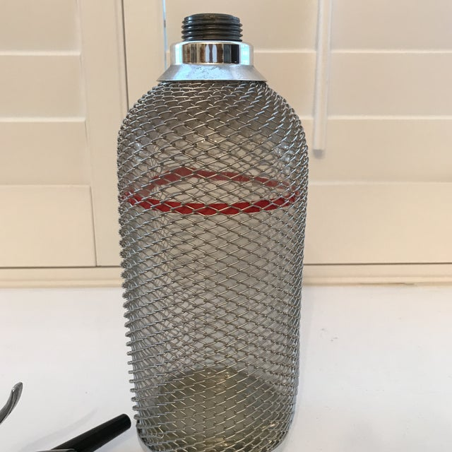 Vintage Reuseable Seltzer Bottle For Sale - Image 10 of 11