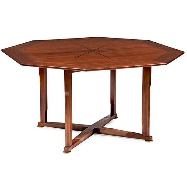 EDWARD WORMLEY JANUS TABLE FOR DUNBAR - Image 6 of 6