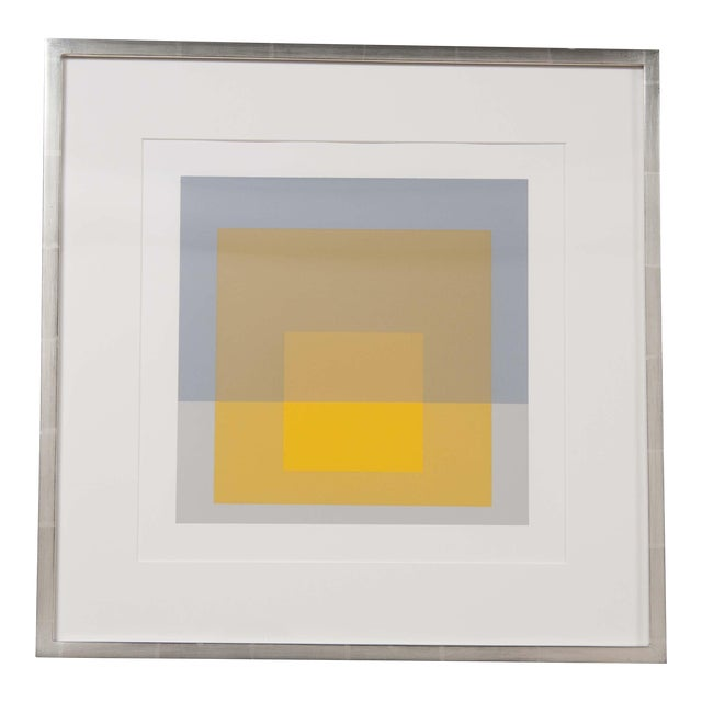 Josef Albers Print From the Series Formulation and Articulation For Sale