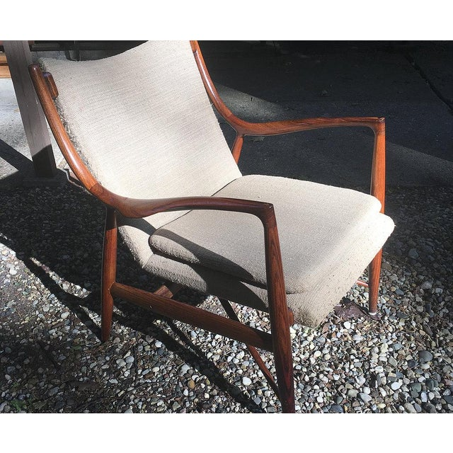 Vintage Finn Juhl Nv-45 Rosewood Club Chair For Sale - Image 5 of 6