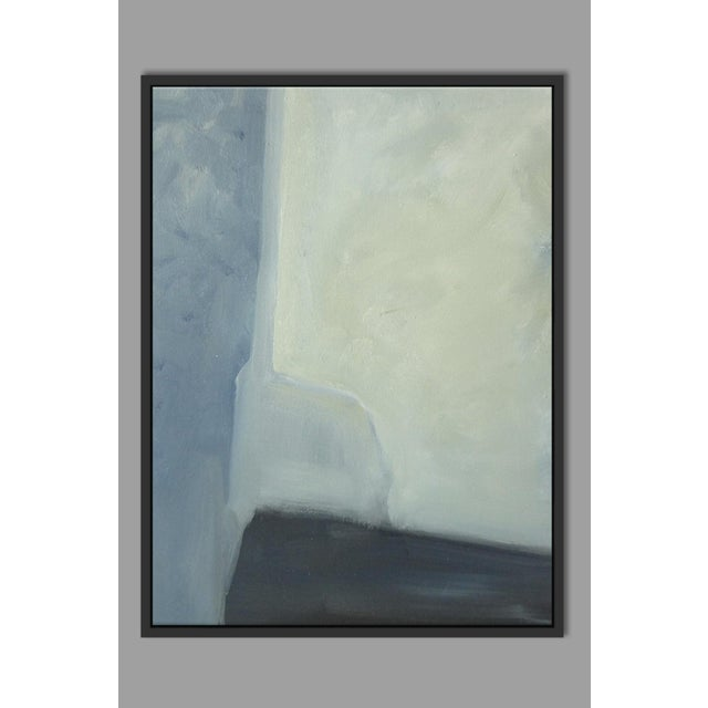 """Abstract Planes & Corners"" Framed Fine Art Giclée - Image 2 of 3"