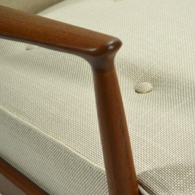 Ib Kofod-Larsen Highback Lounge Chair For Sale - Image 9 of 9